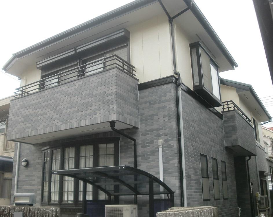 外壁(2階部)塗装・屋根重葺き(カバー工法)工事 After