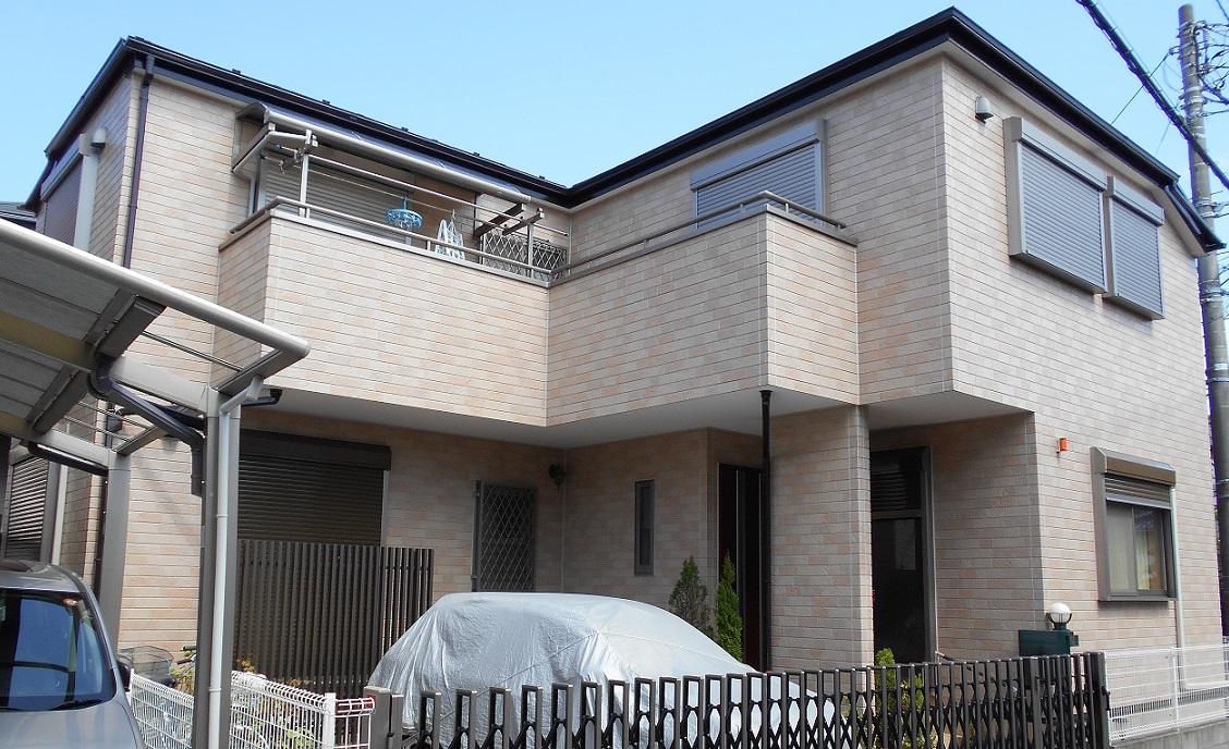 外壁塗装・屋根塗装工事☆当社オリジナルクリヤー塗料使用 After