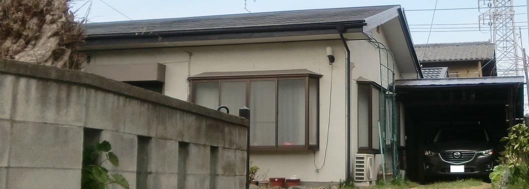 屋根一部塗装・車庫塗装工事 After
