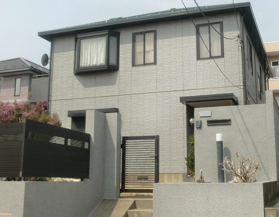 外壁塗装・屋根塗装・門塀塗装・浴室改修工事 After