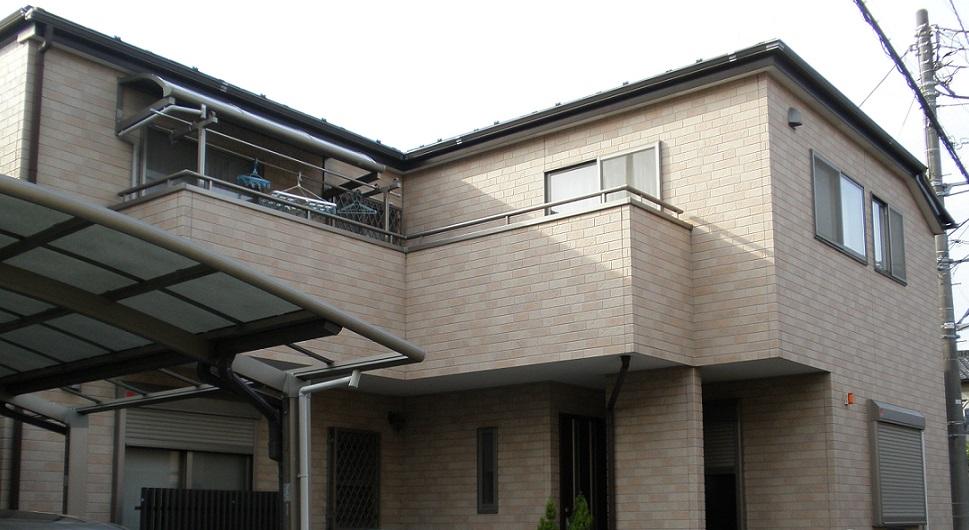 外壁塗装・屋根塗装工事☆当社オリジナルクリヤー塗料使用 Before