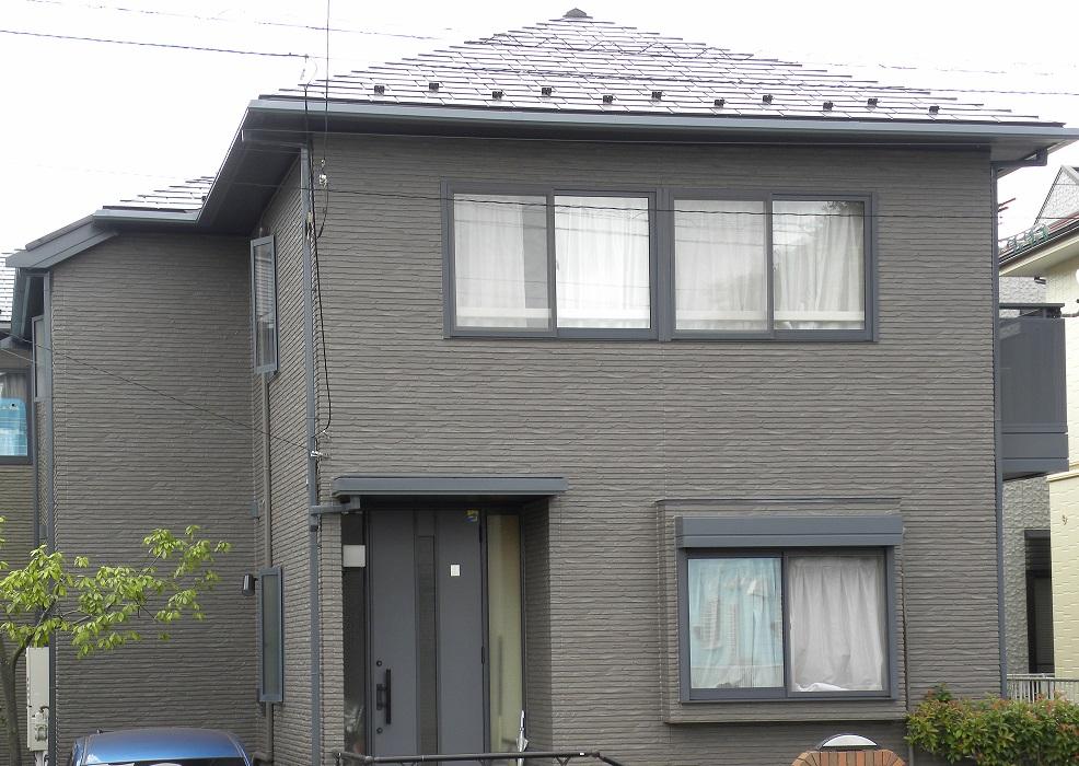 外壁塗装・屋根塗装・門塀塗装工事 After