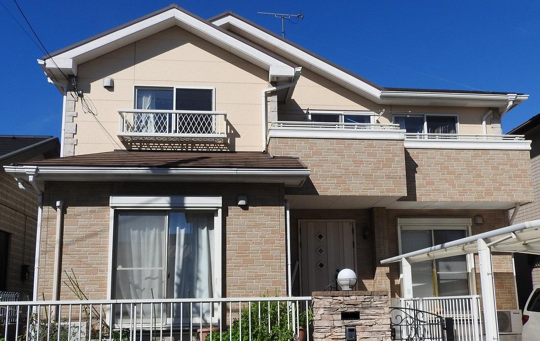 外壁塗装・屋根塗装工事 ☆当社オリジナルクリヤー塗料使用 Before