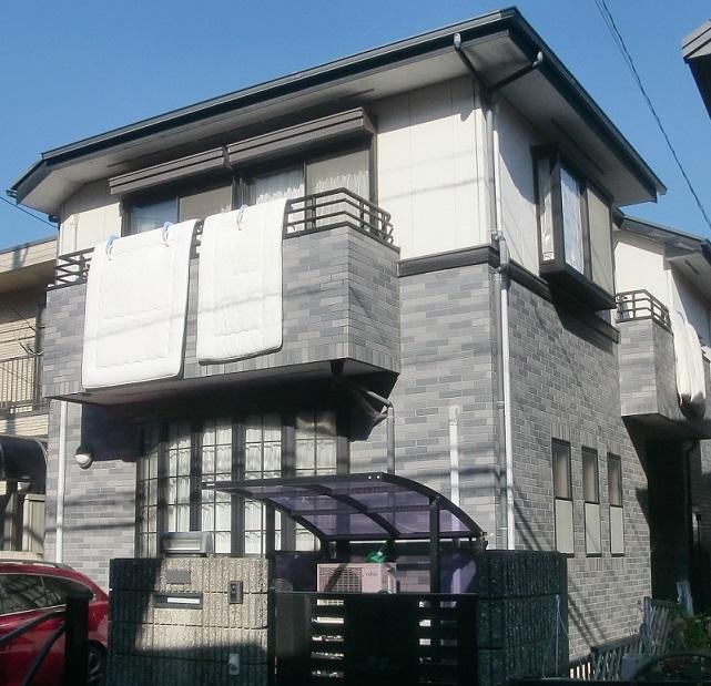 外壁(2階部)塗装・屋根重葺き(カバー工法)工事 Before
