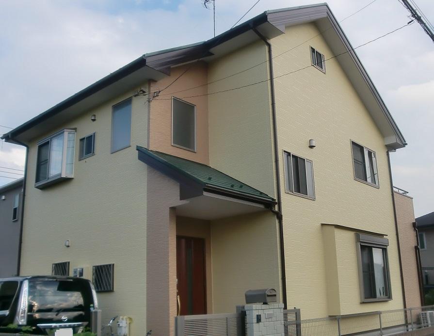 外壁塗装・屋根塗装・ベランダ防水工事 After