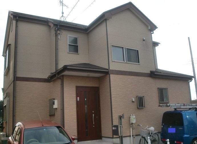 外壁塗装・屋根塗装・ベランダ防水工事 Before