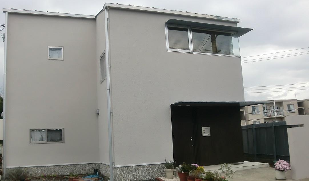 外壁塗装・門塀塗装工事 After