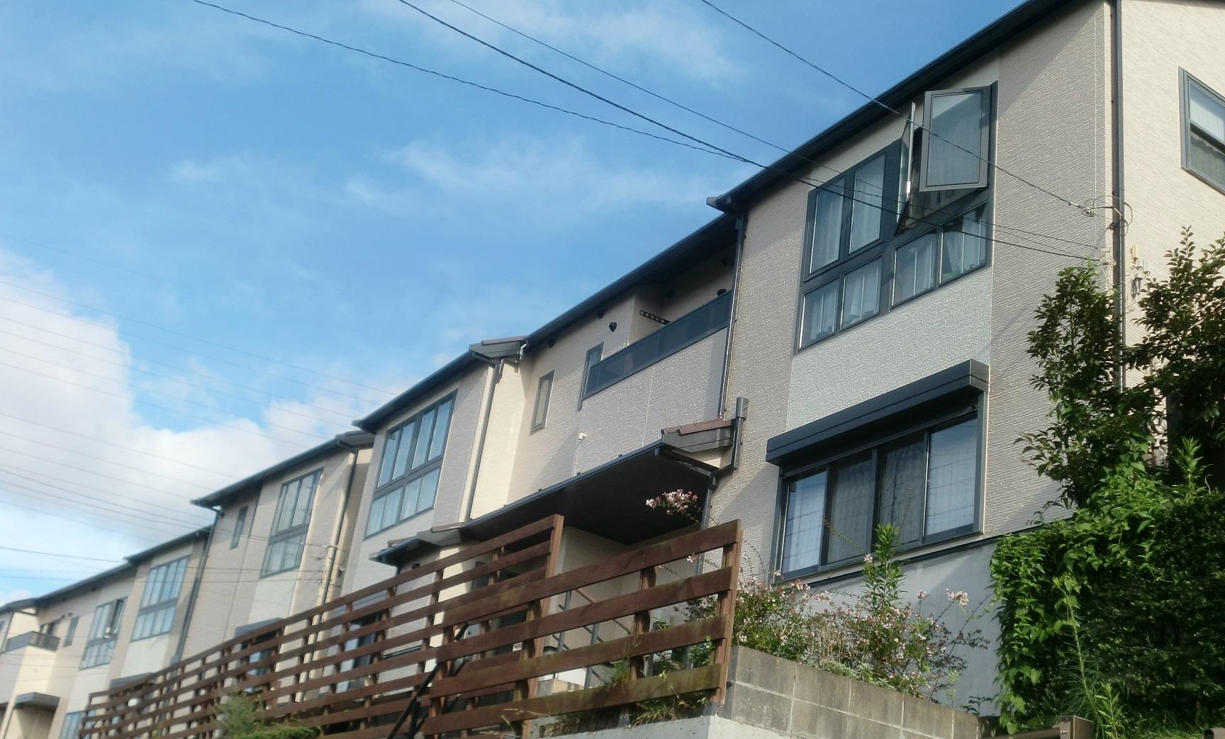 テラスハウス5棟 外壁塗装・屋根塗装工事 After