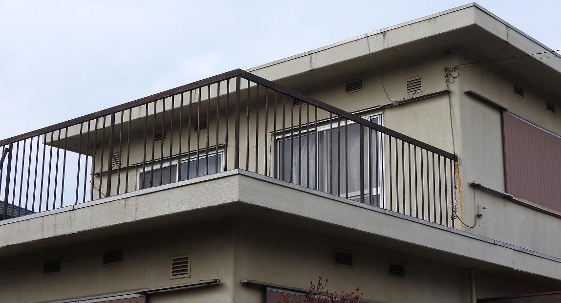 屋上トップコート塗装・内装工事 After