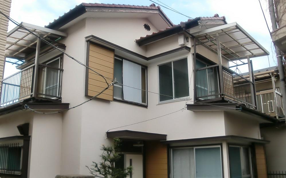 屋根防水紙張替え・瓦積直し工事 After