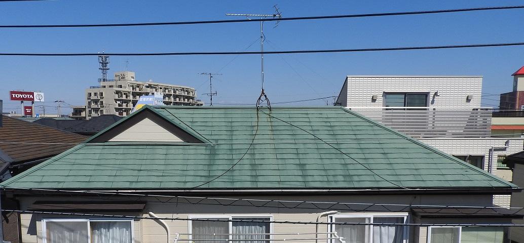 屋根塗装工事 Before
