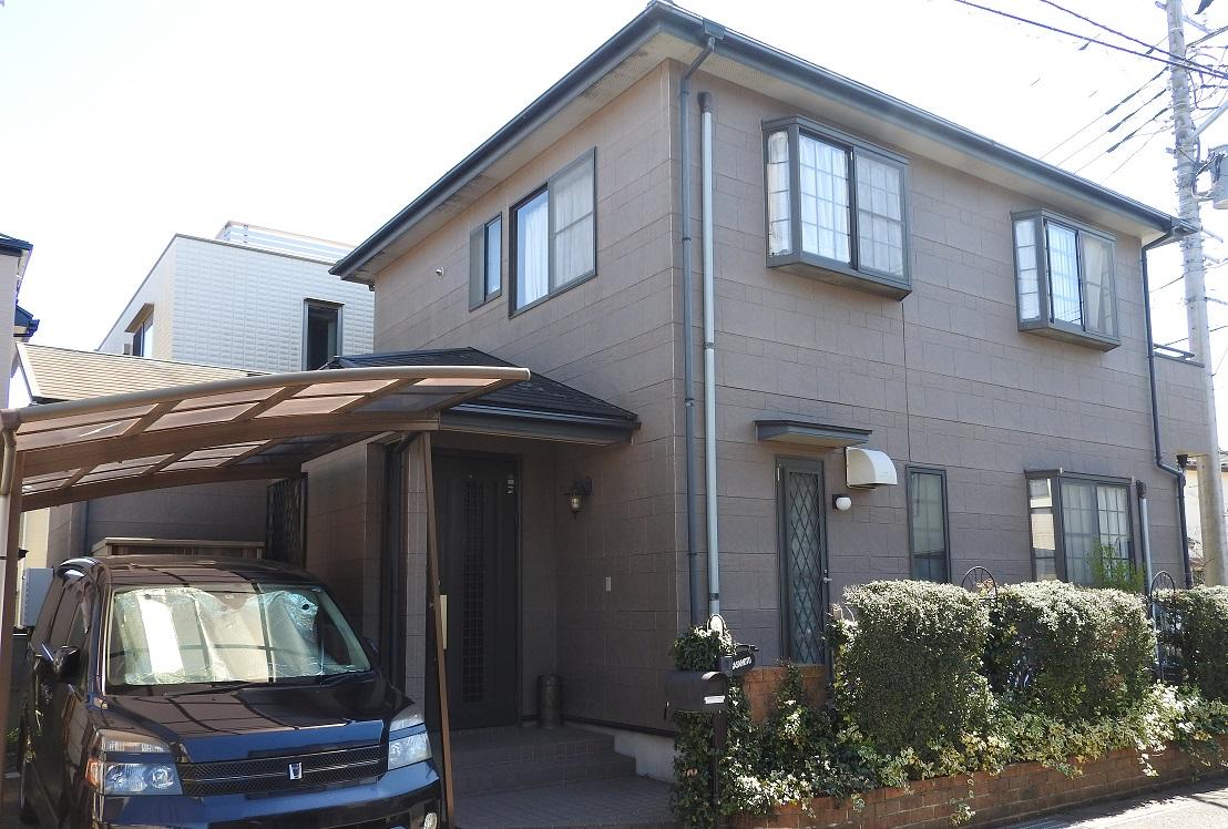 外壁塗装・屋根塗装・ベランダ床トップコート塗装工事 Before