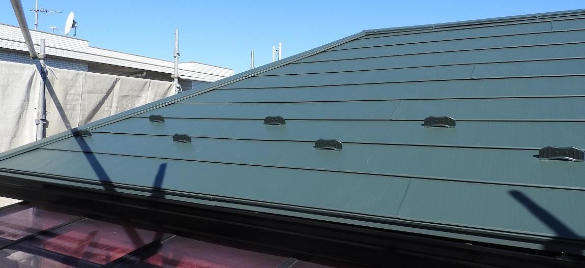 外壁塗装・金属屋根カバー工法(重葺き)工事 After