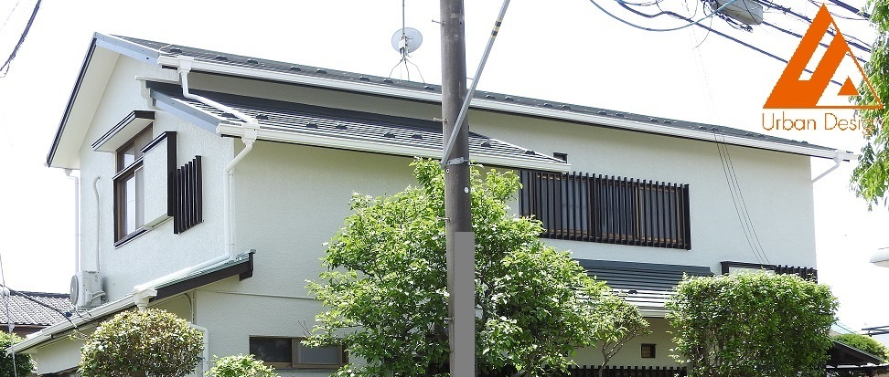 外壁塗装・瓦屋根葺き替え工事 After