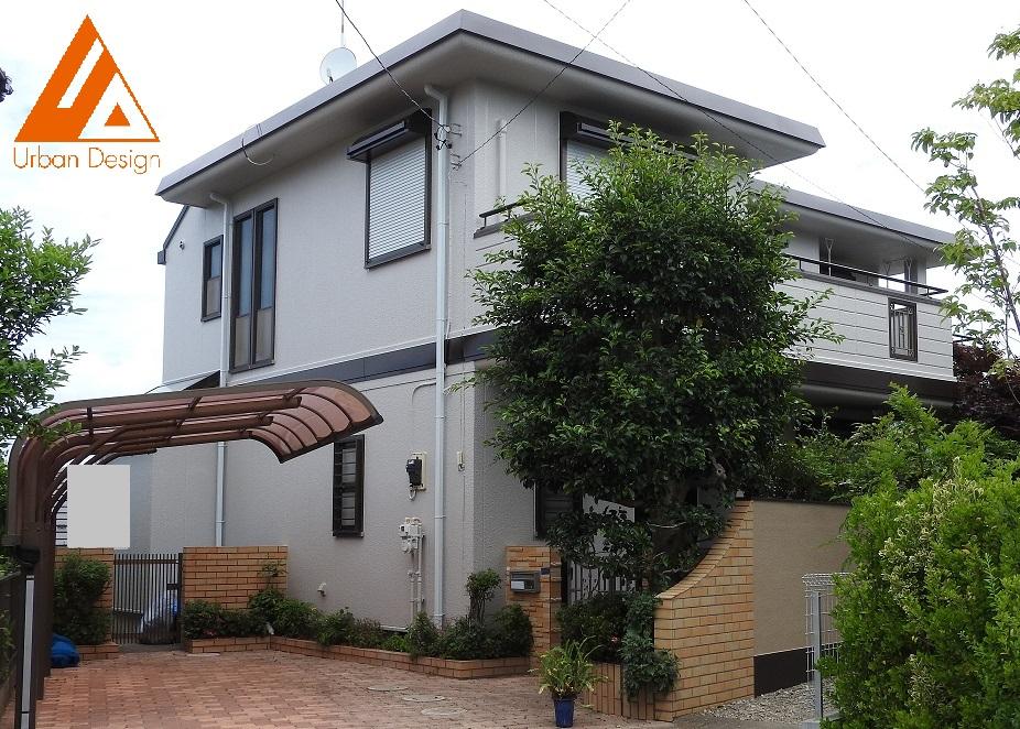 外壁塗装・陸屋根(屋上)防水工事 After