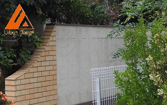 外壁塗装・陸屋根(屋上)防水・門塀(外構)補修工事 Before
